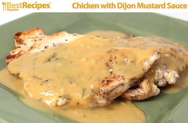 Chicken with Dijon Mustard Sauce