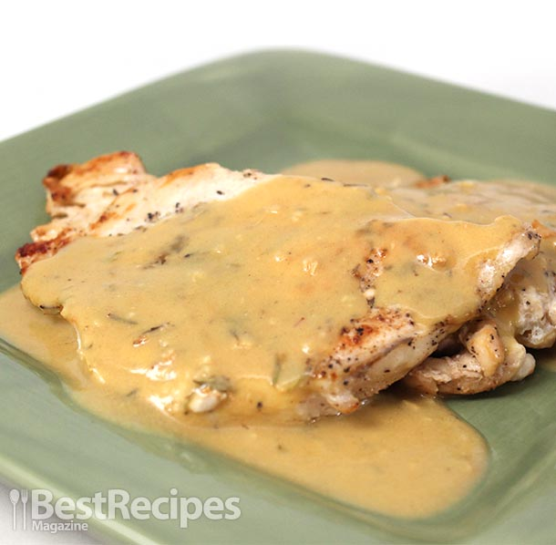 Recipe for mustard sauce for chicken