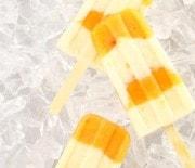 Peach and Yogurt Popsicles